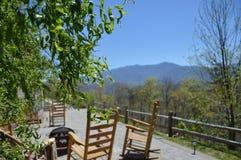 Rauchige Berge in Gatlinburg, Tennessee Lizenzfreie Stockfotos