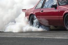 Rauchshow stockbild