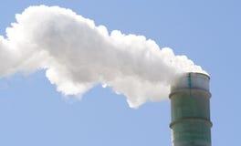 Rauchstapel Stockfotografie