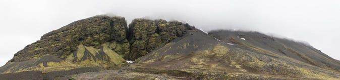 Raudfeldsgja-Schlucht panoramisch lizenzfreie stockfotos