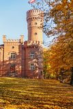 Raudone Castle In Autumn Royalty Free Stock Images