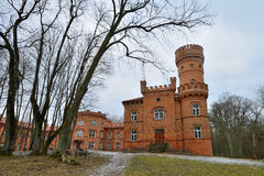 Raudone Castle, Lithuania. Stock Images