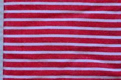 Raue abgestreifte Textilstruktur Stockfoto