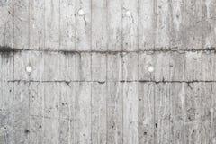 Raue alte graue Betonmauer, Beschaffenheit Lizenzfreies Stockbild