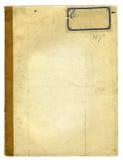 Raue alte Schule-Notizbuch-Beschaffenheit Stockfotos