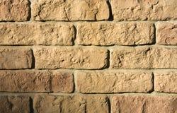 Raue Backsteinmauer lizenzfreie stockfotografie