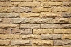 Raue Backsteinmauer Stockbild