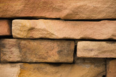 Raue Backsteinmauer Lizenzfreies Stockbild
