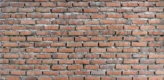 Raue Backsteinmauerbeschaffenheit Stockfotografie