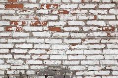 Raue Backsteinmauerbeschaffenheit Lizenzfreie Stockfotos