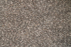 Raue Backsteinmauerbeschaffenheits-Perspektivenansicht Lizenzfreie Stockfotografie