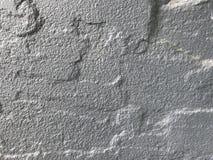 Raue Beschaffenheit der grauen Zementwand im vollen Rahmen stockfoto