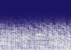 Raue Beschaffenheit der Jeans Zerknitterte Leinwand Segeltuchschmutzeffekt Steigungsjeanstextilhintergrund-Punktmuster Vektor vektor abbildung
