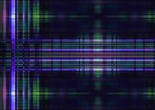 Raue Blaulichtspuren Stockbild