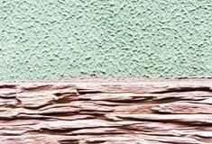 Raue Farben der Wandbeschaffenheit zwei und Arten von Oberflächen Lizenzfreies Stockfoto