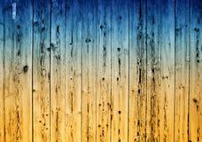 Raue gemalte Planken Lizenzfreie Stockbilder