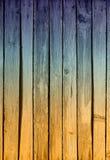 Raue gemalte Planken Lizenzfreies Stockfoto