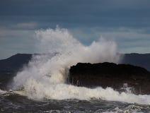 Raue Meere Stockbild