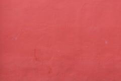 Raue rote Wand und schmutzig Lizenzfreie Stockfotografie