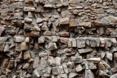 Raue Steinwand Lizenzfreies Stockfoto