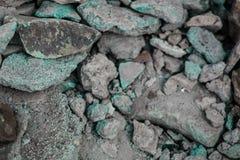 Raue strukturierte steife geographische Felsen stockfotografie