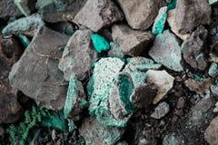 Raue strukturierte steife geographische Felsen stockbild