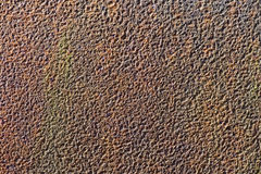 Raue, verrostete Oberfläche Stockfotografie