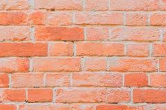 Raue Wand des roten Backsteins Beschaffenheit der Maurerarbeit für modernen Hintergrund, Tapeten- oder Fahnendesign Stockfotos