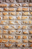 Raue Ziegelsteinbeschaffenheit Stockbild