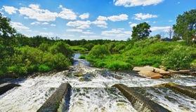 Rauer Fluss Stockfoto