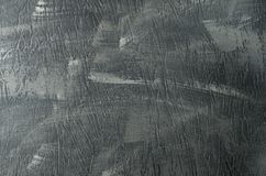 Rauer gemalter grauer konkreter strukturierter Hintergrund stockfotos