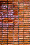 Rauer grunge Backsteinmauerhintergrund Stockfotografie