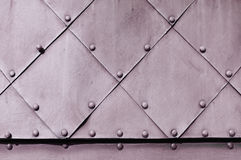 Rauer industrieller Hintergrund mit blasser strukturierter metallischer Oberfläche Lizenzfreies Stockbild