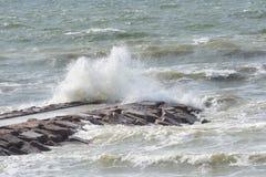 Rauer Ozean Stockfoto