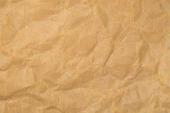 Rauer Retro- Hintergrund des braunen Papiers Stockbilder
