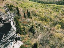Rauer Ridge-Ausblick lizenzfreie stockfotos