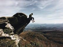 Rauer Ridge-Ausblick Stockfotos