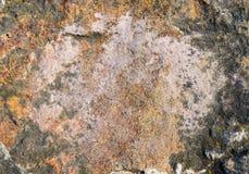 Rauer Stein des natürlichen Granits Der alte Oberflächenabschluß oben Hintergrund Lizenzfreie Stockbilder