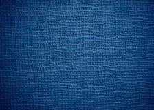 Raues blaues Leder Stockfoto