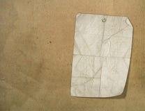 Raues Exemplar auf dem papery abstrakten Hintergrund vektor abbildung