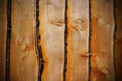 Raues Holz Stockfoto