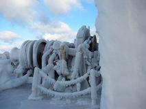 Raues Wetter-Eis Lizenzfreies Stockbild