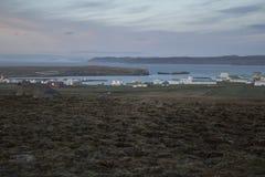 Raufarhofn en Islandia Imagen de archivo libre de regalías