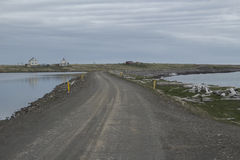 Raufarhofn in Island Lizenzfreies Stockbild