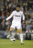 Raul Albiol av Real Madrid Royaltyfria Foton