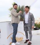 Raul de la Fuente e Damian Nenow Fotografia Stock