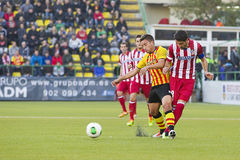 Raul Garcia in action Stock Images