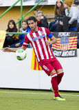 Raul Garcia of Atletico de Madrid Royalty Free Stock Photo