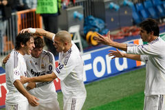 Raul Goal Celebration Stock Photography