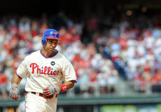 Raul Ibanez - home run - Phillies Royalty Free Stock Images